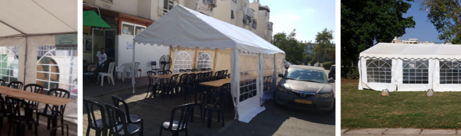 אוהלי אריאל לאבלים